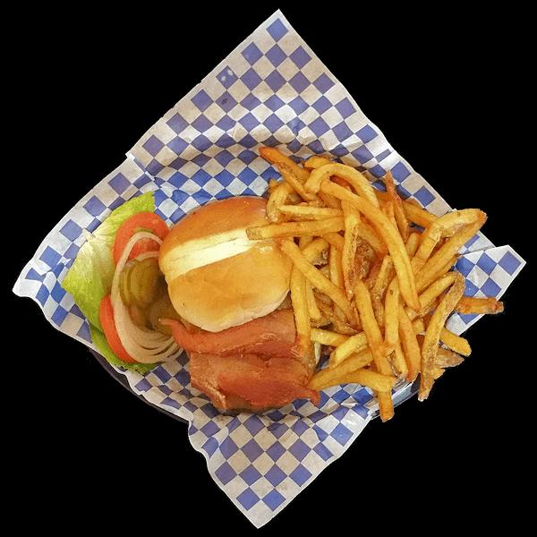 Smoken Moe's Bacon Cheeseburger