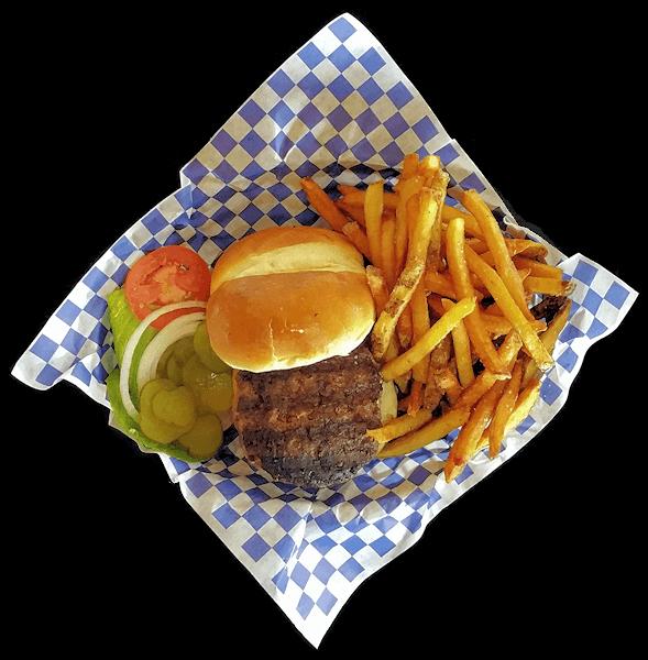 Smoken Moe's Hamburger