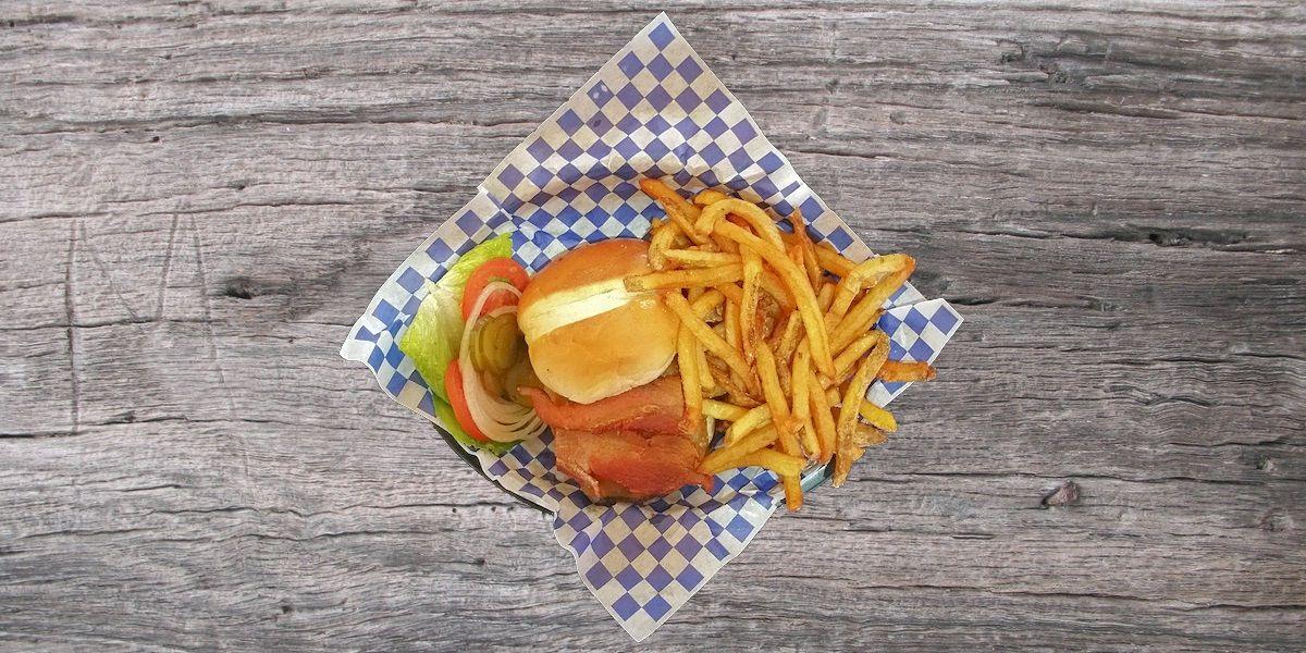 Smoken Moe's Unreal BBQ Menu - Bacon Cheeseburger
