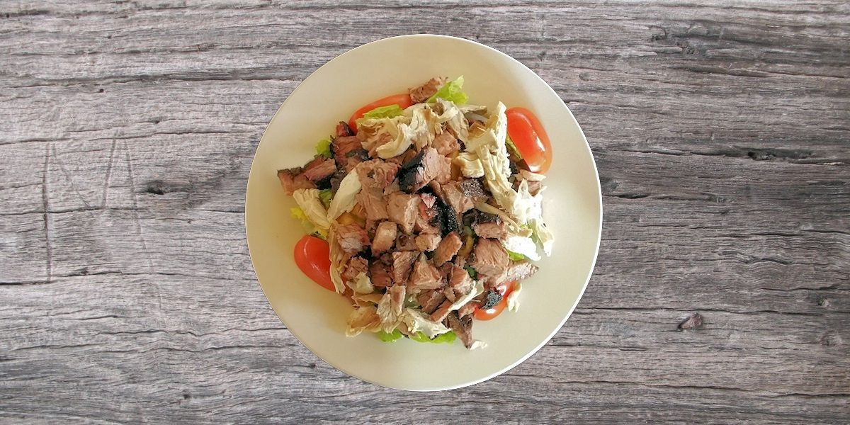 Smoken Moe's Unreal BBQ Menu - Brisket Salad
