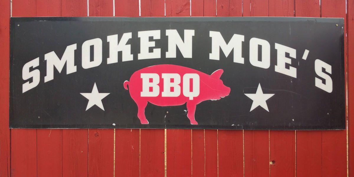 Smoken Moe's Unreal BBQ Sign
